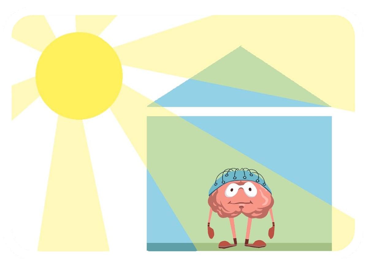 Home Based Neurofeedback Illustration